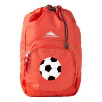 Red Backpack: Soccer High Sierra Backpack