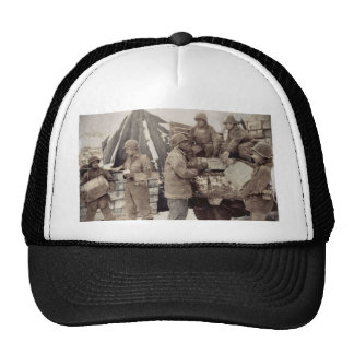 Red Ball Express Supply Convoy Trucker Hat