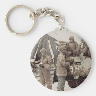 Red Ball Express Supply Convoy Keychain
