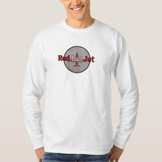 Red Ball Jet Unisex/Men's Long-sleeved T-shirt