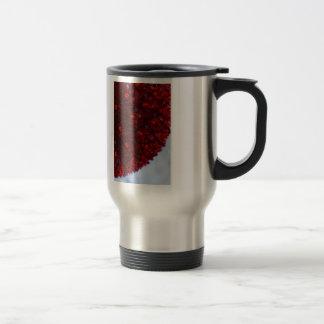 Red Ball Light Travel Mug