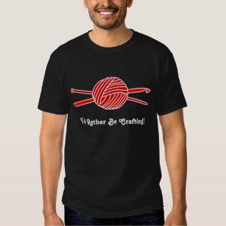 Red Ball of Yarn (Knit & Crochet) T-shirt