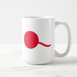 Red Ball of Yarn Mug