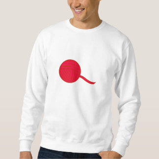 Red Ball of Yarn Sweatshirt