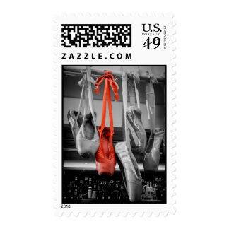 Red Ballet Shoe Postage