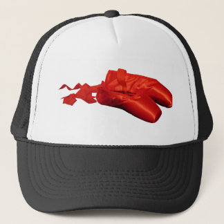 Red Ballet Shoes Trucker Hat