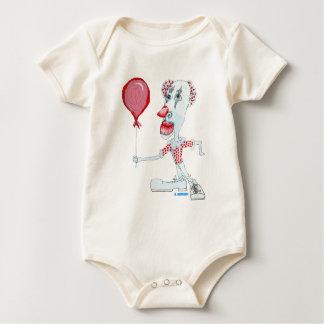 Red Balloon Baby Bodysuit