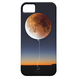 Red Balloon Moon iPhone SE/5/5s Case