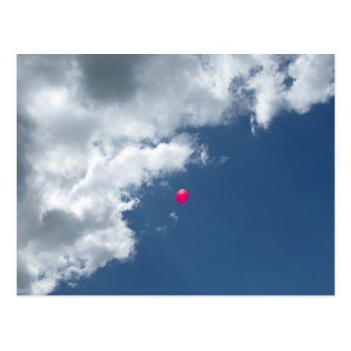 Red Balloon Postcard