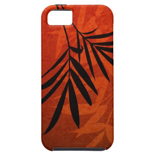 Red Bamboo - Customized Template iPhone 5 Covers