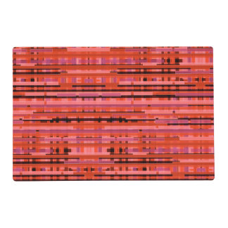 Red Bamboo Laminated Place Mat