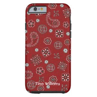 Red Bandana iPhone 6 case