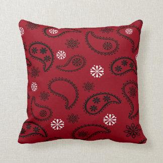 Red  Bandana Pillow