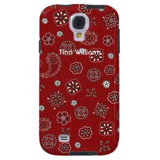Red Bandana Samsung Galaxy S4 Case