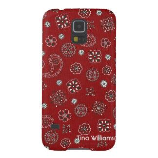 Red Bandana Samsung Galaxy S5 Case