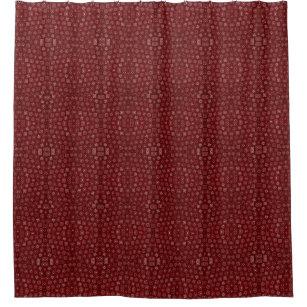 Red Bandana Shower Curtain