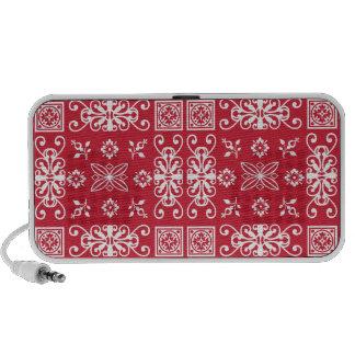 Red Bandana Laptop Speakers