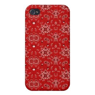 Red Bandana Speck Case