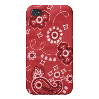 Red Bandana Speck iPhone 4 Case