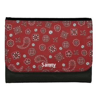 Red Bandana Wallet