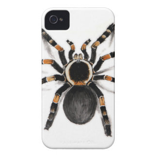 Red Banded Tarantula Spider iPhone 4 Case-Mate Cases