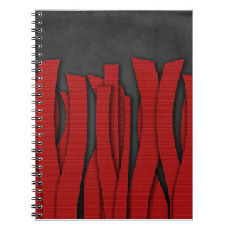 Red Bandelettes Notebook