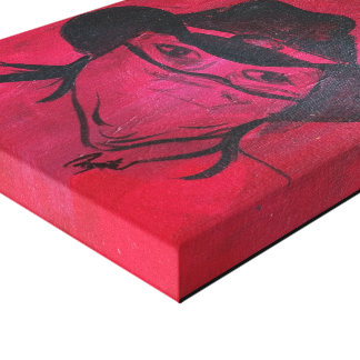 Red Bandit Canvas Print