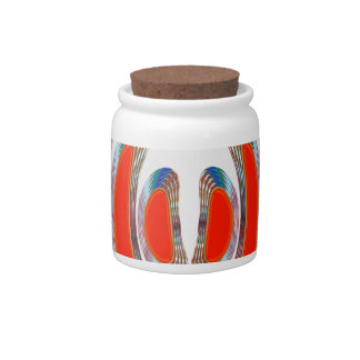 RED BANGLES : Abstract Decorative Art on GIFTS Candy Dish