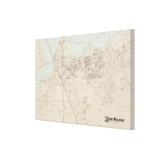 Red Bank, Ner Jersey Canvas Print
