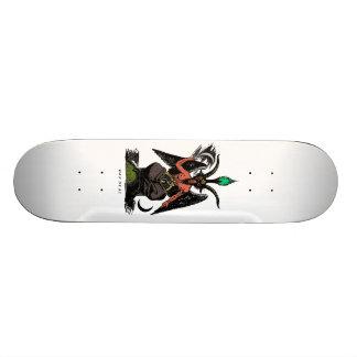 Red Baphomet Skateboard