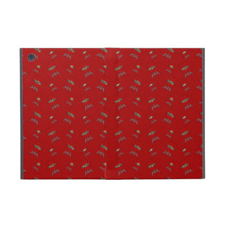 red barbeque pattern iPad mini covers