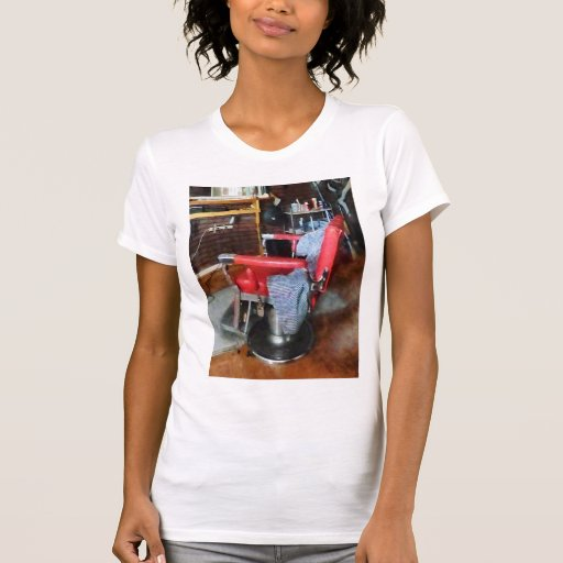 Red Barber Chair T-shirts