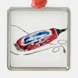 Red Barber Clippers Ornaments