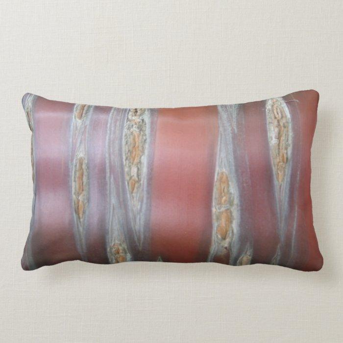 Red Bark Pillow