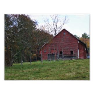 Red Barn 11 x 8.5 Photographic Print