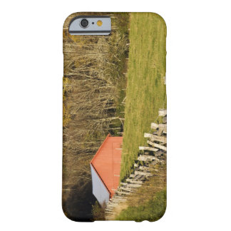 Red barn and fencerow along the Blue ridge Barely There iPhone 6 Case