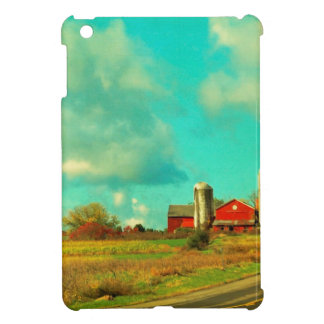 red Barn Blue Sky Cover For The iPad Mini