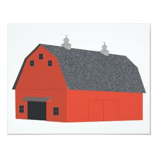 Red Barn Card
