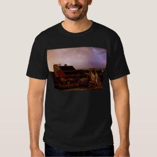 red_barn_farm_lightning_thunderstorm.jpg t shirt