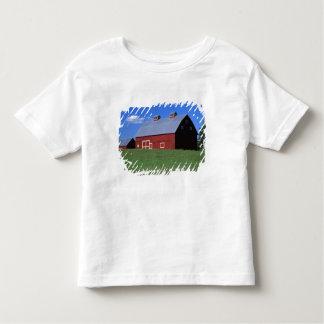 Red barn in Latah County, Idaho state PR MR) Toddler T-shirt