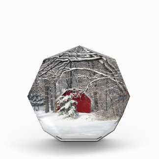 Red Barn in the Snow 2011 Award