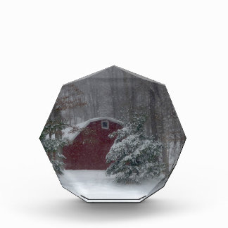 Red Barn in the Snow Award