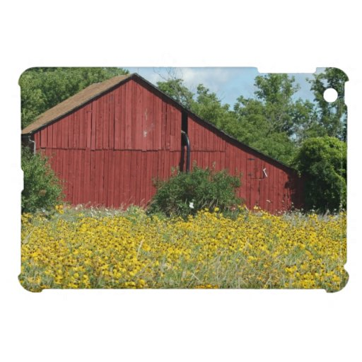 Red Barn iPad Mini Cases