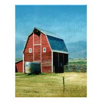 Red Barn Letterhead