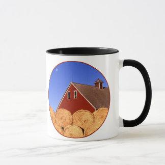 Red Barn Moon Mug