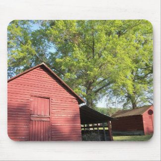 Red Barn Mouse Pad