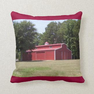 Red Barn Pillow