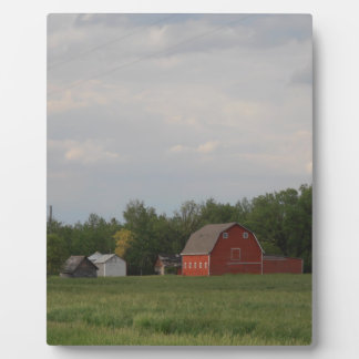 Red Barn Plaque