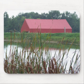 Red Barn&Pond#1 Mouse Pad