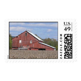 red barn postage